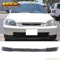 For 96 98 Honda Civic EK JDM CTR Lower Front Bumper Lip Spoiler Bodykit PU