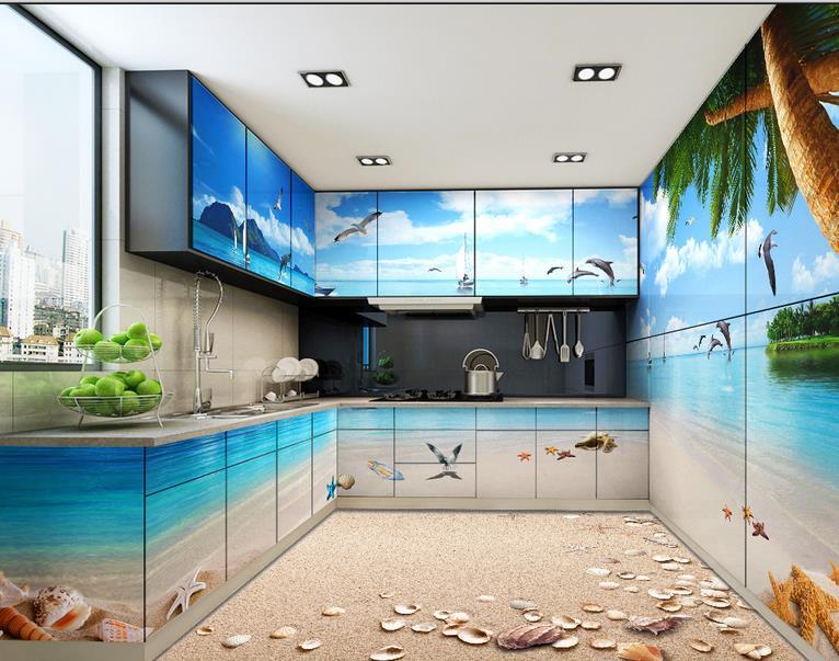 3d Stereoscopic Wallpaper Custom 3d Floor Murals Pvc Self