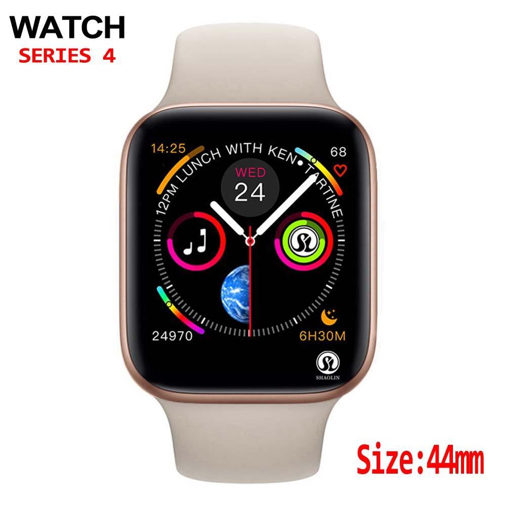 Мужские смарт-часы 44 мм для apple watch iphone 6 7 8 X Samsung Android Смарт-часы телефон Поддержка Whatsapp