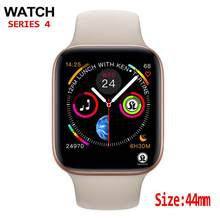 44mm hombres Smartwatch para apple watch iphone 6 7 8 X Samsung Android reloj inteligente teléfono apoyo Whatsapp(China)