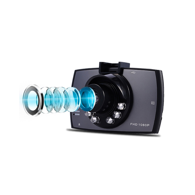 Aoshike Car DVR Camera G30 720P 140 Degree Dashcam Video Registrars For Cars Night Vision G-Sensor Dash Cam Car DVR 1