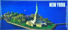 Fridge magnets New York Statue of Liberty Rectangle Tourism Souvenir Home Decor Refrigerator Magnets Wall Sticker