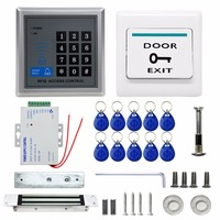 Direct Factory Electric Door Lock Magnetic Modern Access Control System ID Card Password Proximity Door Entry Keypad