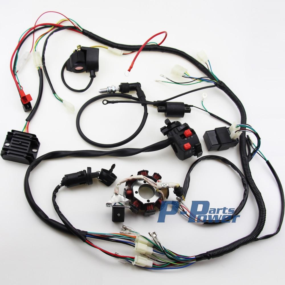 bmx 150cc atv wiring harness chinese atv parts roketa cc atv wiringcompra atv lifan online al por or de oristas de atv cdi de electricidad completa mazo atv harness