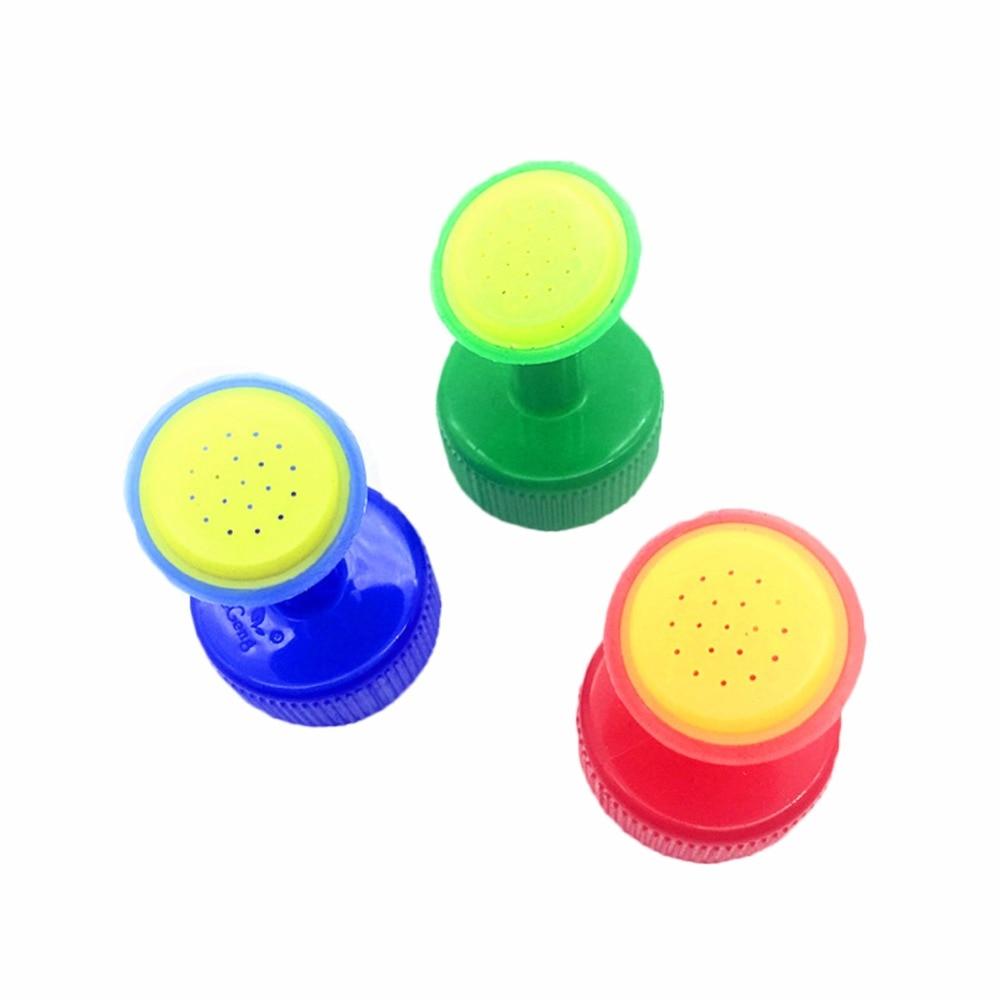 8 PCS Bottle Cap Sprinkler PVC Plastic Watering GB 28mm Caliber Little Nozzle Sprinkler Head Watering Vegetables Mist Nozzle