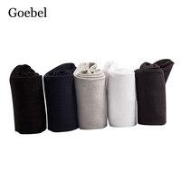 Goebel Bamboo Fiber Socks For Man Solid Color Casual Men Business Socks Antibacterial Deodorant Men Business