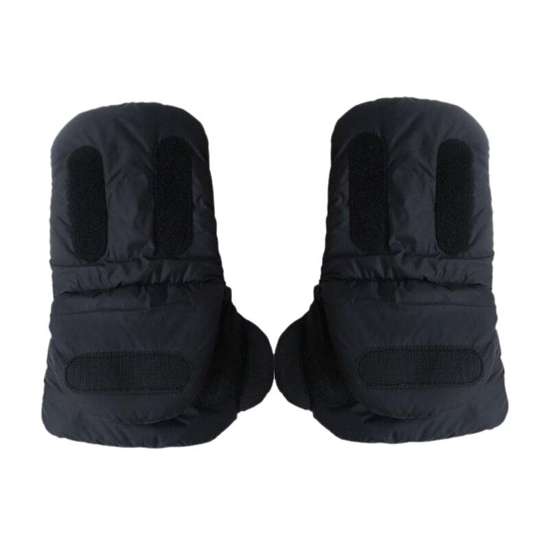 Extra Dicke Kinderwagen Hand Muff Winter Wasserdichte Anti-einfrieren Handschuhe Für Eltern Und Pflegepersonal 100% Hochwertige Materialien