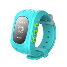 New 2016 Q50 Smart Phone Watch Children Kid Smartwatch Wristwatch GSM GPRS GPS Locator Tracker Anti-Lost for iOS Android