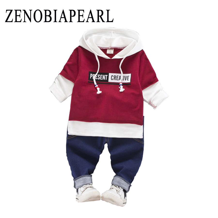 Baby Boy Clothes Set Children Clothing Sets Products Kids Clothes Baby Boys T-shirts+Pants 2PCS Tracksuit 3 Months - 4 Years Old