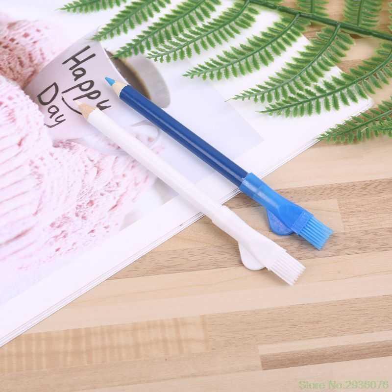 2019 новая одежда для маленькой девочки 2 шт./компл. Швейные карандаши портного карандаш с кистью маркер тканя ремесло одежды карандаши