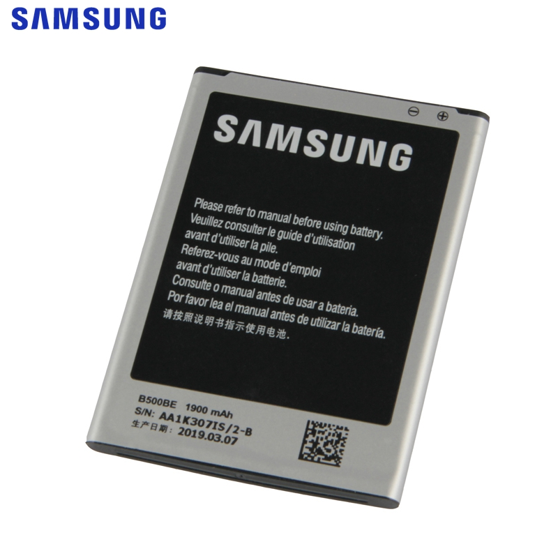 Original Replacement Battery For Samsung Galaxy S4 Mini NFC Project J Mini i9192 i9195 i9198 i9190 4 Pin B500AE B500BE 1900mAh in Mobile Phone Batteries from Cellphones Telecommunications
