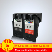 Xiangyu PG510 CL511 Ink Cartridge Replacement for Canon PG 510 pg-510 CL 511 for MP240 MP250 MP260 MP280 MP480 MP490 IP2700MP499