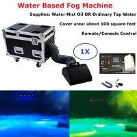 Free Shipping 1Pcs Small Size Water Based Fog Machine High Power 3000W DMX512 Stage Dj Effect Low Lying Water Fog Smoke Machine