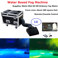 Free Shipping 1Pcs Small Size Water Based Fog Machine High Power 3000W DMX512 Stage Dj Effect Low Lying Water Fog Smoke Machine