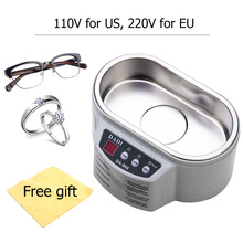 Smart Ultrasonic Cleaner Stainless Steel Ultrasound Wave Washing for J