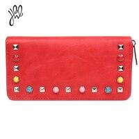 PU Leather Wallet Women Long Wallet Fashion Style Dot Pattern Wallet Ladies Purse Big Card Holder