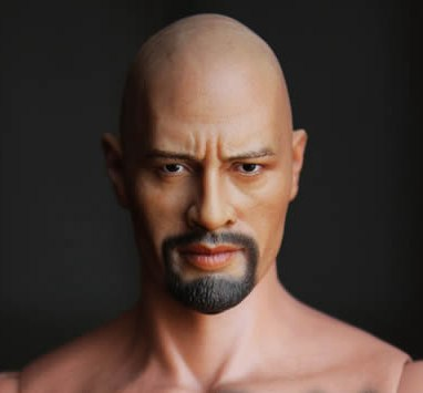 1/6 scale figure doll head shape for 12 action figure doll accessories movie star Fast & Furious Dwayne Johnson Head carved 1 6 scale figure doll head guardians of the galaxy star lord peter quill chris pratt head doll accessories for diy figure doll