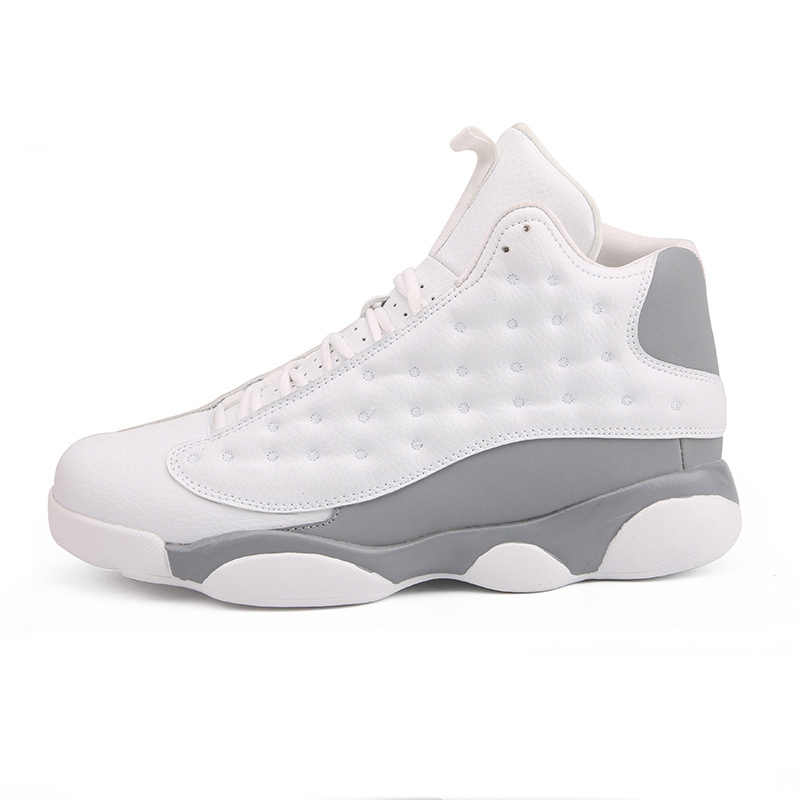 High Top Mens Basketball Shoes Jordan Retro Basketball Boots Breathable Nonslip Lace Up White Trainers Zapatillas Sneakers Cheap