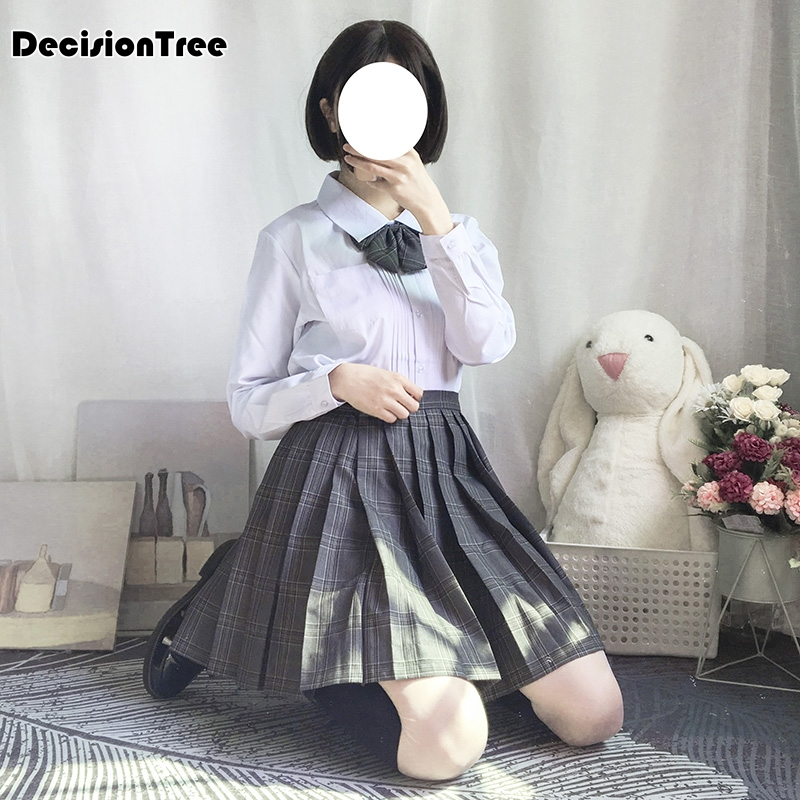 2020 Japanese Jk School Uniform For Girls Embroideried Short Sleeve High School Women Novelty Sailor Suits Uniforms Cospl