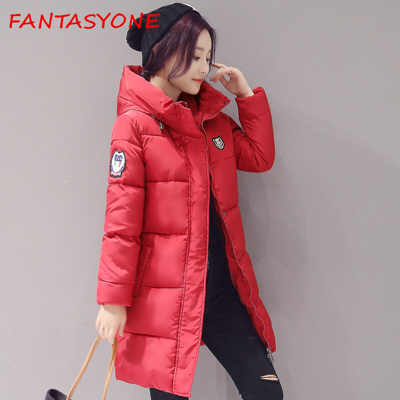 FANTASYONE Plus Size Winter Jacket Women Winter Coat Hooded Parka Jaqueta Feminina Chaquetas Mujer Casacos De Inverno Feminino