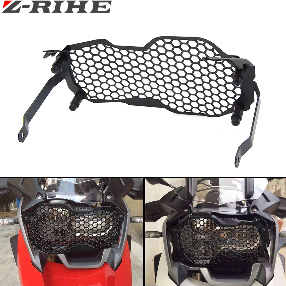 For BMW R1200GS ADV 2013-2016 Headlight Grille Guard Cover Protector For BMW R1200GS ADV 2013 2014 2015 2016 акрапович для бмв r1200gs 2013