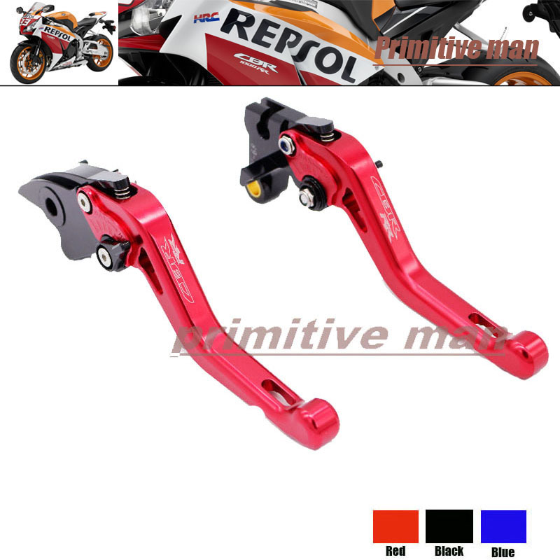 ФОТО For HONDA CBR600RR 2003-2006 Motorcycle Short Brake Clutch Levers Red
