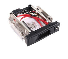 Tool free Serial ATA HDD Rom 3 5 SATA SSD HDD Mobile Rack with Trayless Hot