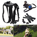 Dog Harness Chest Strap Belt +Mount +J Hook action camera accessories fit for Xiaomi Yi GoPro Hero 4 3+ 3 SJ cams free shipping