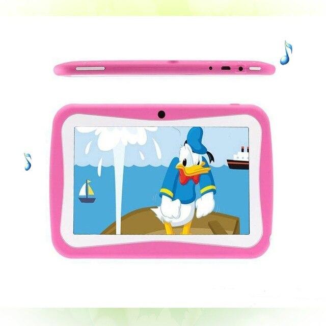 Новый Дизайн 7 Дюймов Дети пк Таблетки WiFi Quad core Dual камера 8 ГБ Android4.4 детская избранные подарки 8 9 10 дюймов планшет