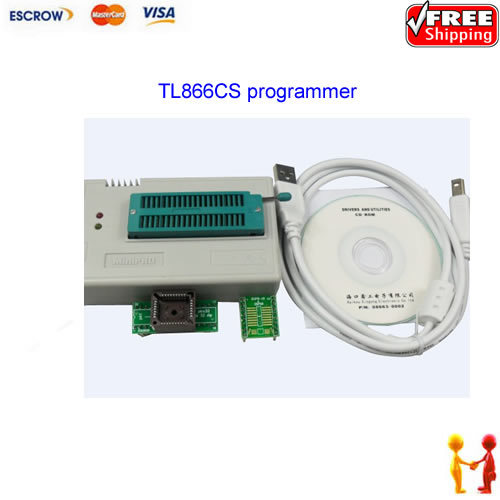 Free shipping ! MiniPro TL866cs True USB Universal Programmer / bios programmer