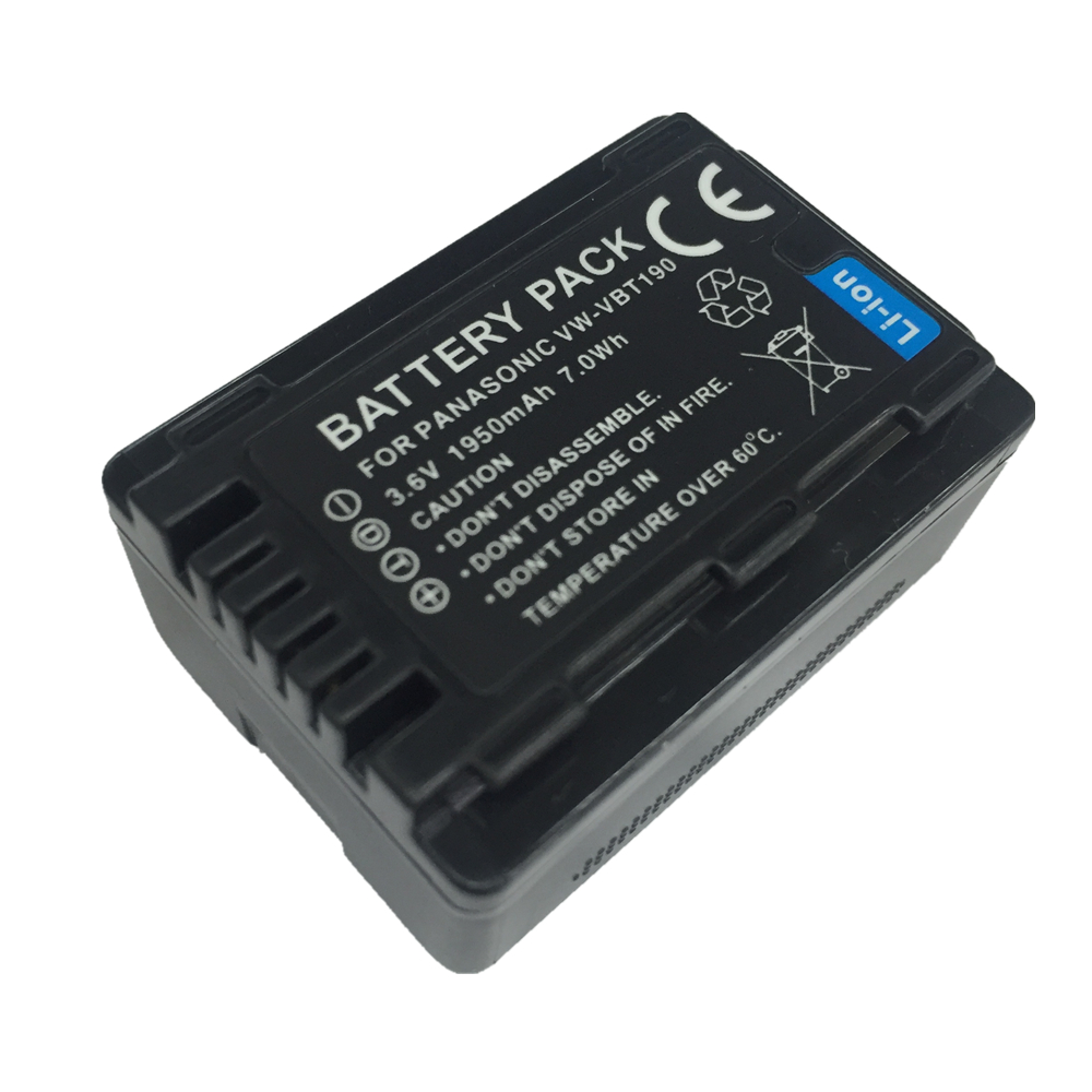 VW-VBT190 VW VBT190 VW-VBT380 lithium battery For Panasonic HC-V110 HC-V130 HC-V160 HC-V180 HC-V201 HC-V210 HC-V230 HC-V250 цены онлайн