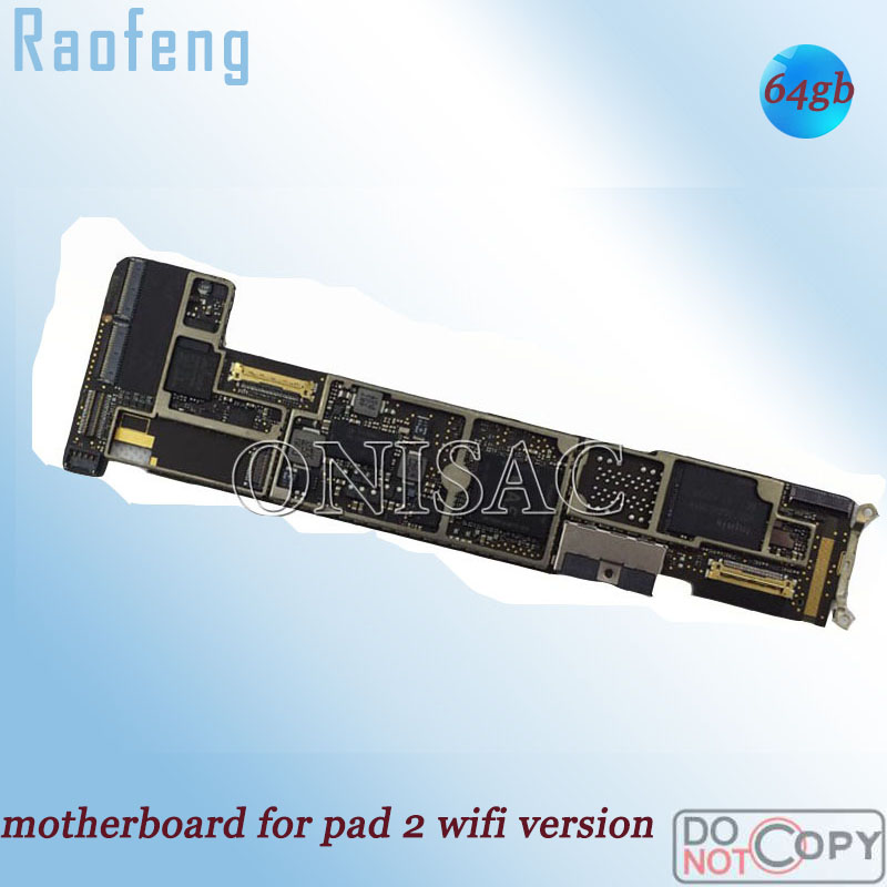 Raofeng Mainboard for iPad 2/Motherboard/Install/.. with Chips Wifi-Version Unlocked title=