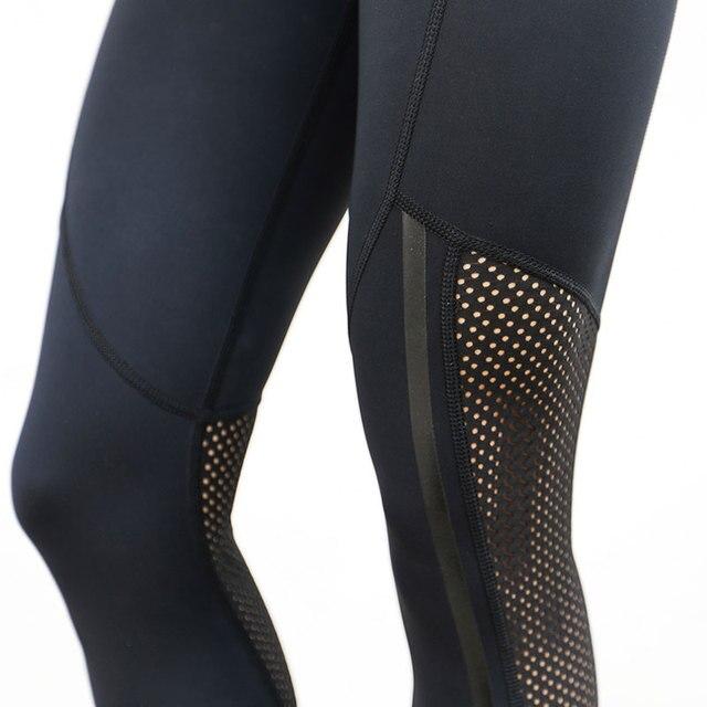 HEAL ORANGE Women Elastic Sport Leggings Fitness Yoga Leggins Gym Running Tights Sportswear Trousers Professional Sports Clothes