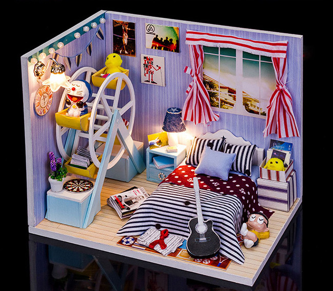 Diy Gift Girlfriend Custom Birthday Girl Friend To Send Her Girlfriends Boyfriend Boy Is Novel And Practical In Doll Houses From Toys Hobbies On