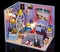 DIY casa de Meus amigos montados manualmente brinquedo casa modelo de construção do presente de aniversário do namorado da menina