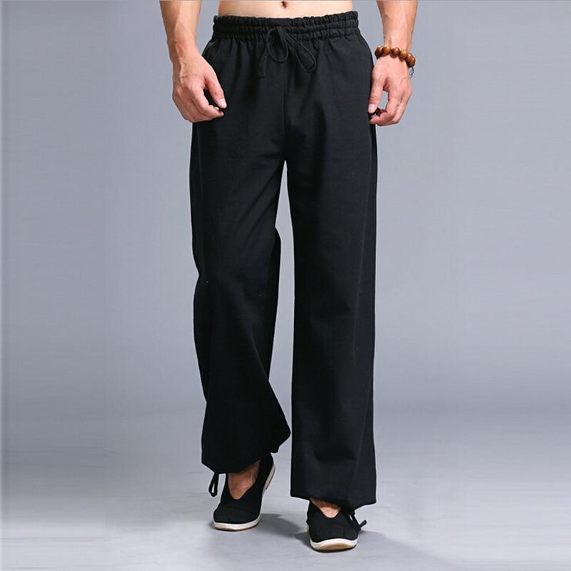 тай-чи штаны для мужчин