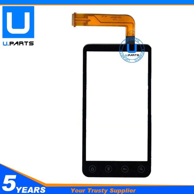 100% Новый Сенсорный Экран Для HTC Evo 3D G17 Touch Панель Передняя Датчик Digitizer Замена Черного Цвета 1 Шт./лот