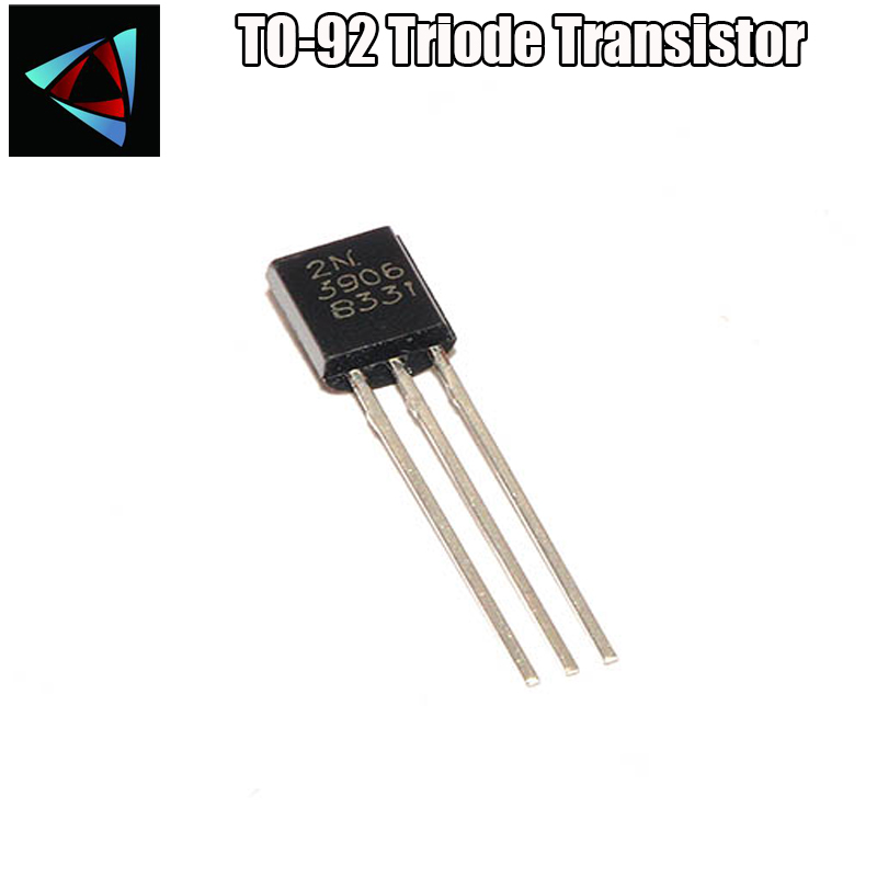 100PCS 2N3906 TO-92 PNP General Purpose Transistor High quality