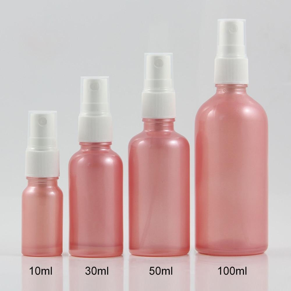 pcs atacado 1 50 oncas de rosa cor atomizador vazio frasco de spray de perfume de
