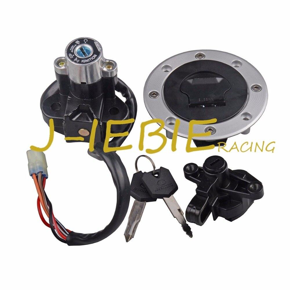 Interrupteur d'allumage siège bouchon de gaz serrure clé pour Suzuki Bandit GSF600 1995-2004 Bandit GSF1200 1997-2005