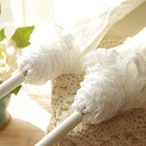 Image 3 - Parapluie en dentelle blanche à Long manche
