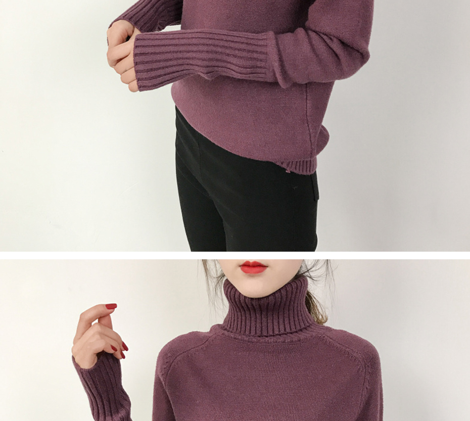 Surmiitro Sweater Female 19 Autumn Winter Cashmere Knitted Women Sweater And Pullover Female Tricot Jersey Jumper Pull Femme 9