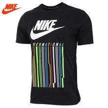 Nike original Mens summer  sports breathable short sleeved black T-shirt
