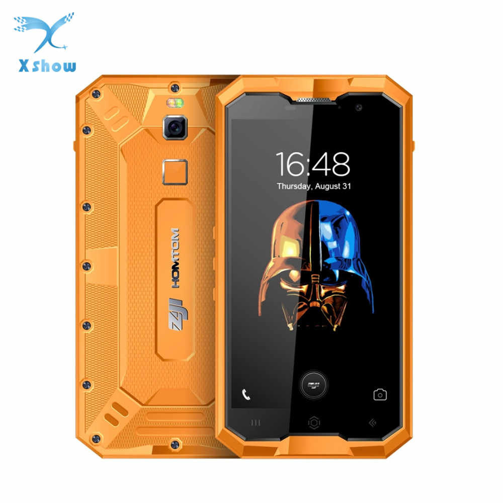 Smart phone HOMTOM ZOJI Z8 IP68 Waterproof MTK6750 Octa Core Android 7.0 Cellphone 5.0 inch Screen 4GB RAM 64GB ROM Mobile Phone