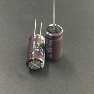 Image 2 - 5pcs 47 미크로포맷 400V Suscon SD 시리즈 12.5x26mm 고주파 저 임피던스 400V47uF 알루미늄 전해 콘덴서