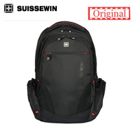 Suissewin Swiss Backpack Male Business 16inch Laptop Backpacks Brand Men Travel Backpack School Students Bags Women
