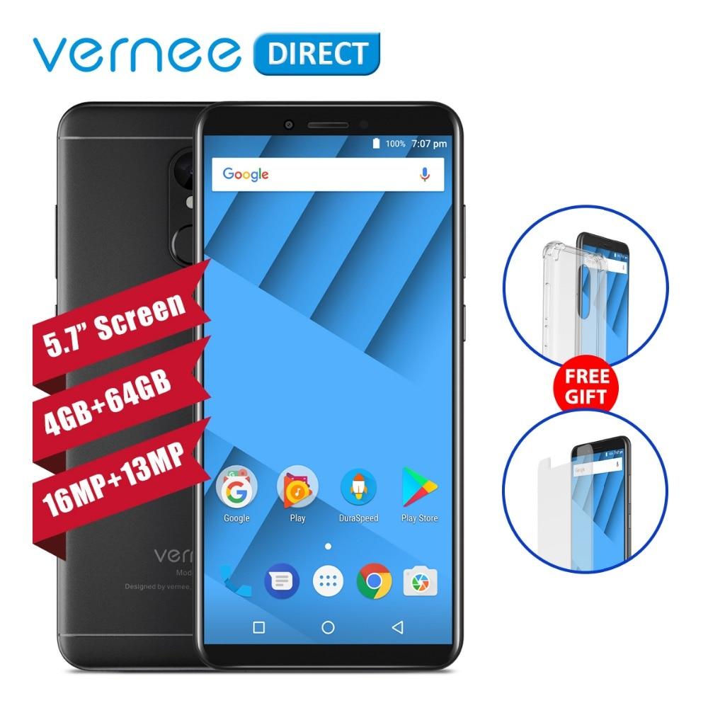 Original Vernee M6 โทรศัพท์ 5.7 นิ้ว 4 GB RAM 64 GB ROM MTK6750C Octa   Core 13MP 16MP Selfie กล้องสมาร์ทโฟนโหมดความงาม-ใน โทรศัพท์มือถือ จาก โทรศัพท์มือถือและการสื่อสารระยะไกล บน AliExpress - 11.11_สิบเอ็ด สิบเอ็ดวันคนโสด 1