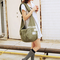 Женская Мода Письмо Печати Холст Crossbody сумки На Ремне Сумки Сумка