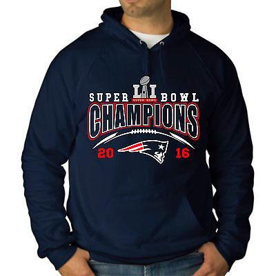 NEW-ENGLAND-PATRIOTS-Super-Bowl-LI-Champions-Sweatshirt-Hoodie-S-M-L-XL-2X-3X