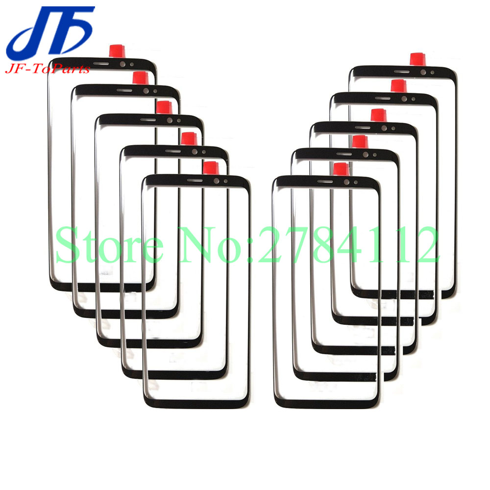 10Pcs Touch screen panel Replacement For Samsung Galaxy Note 8 9 N950 N950F 6 3 black